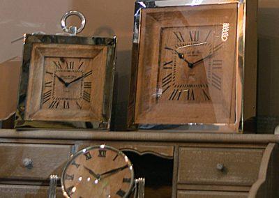 Sogno | Orologi da tavolo in legno e acciaio
